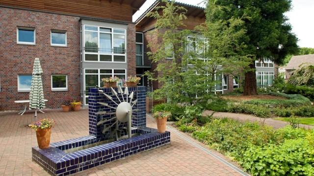 """Garten des Seniorenzentrums """"Am Eichendorffpark"""""""